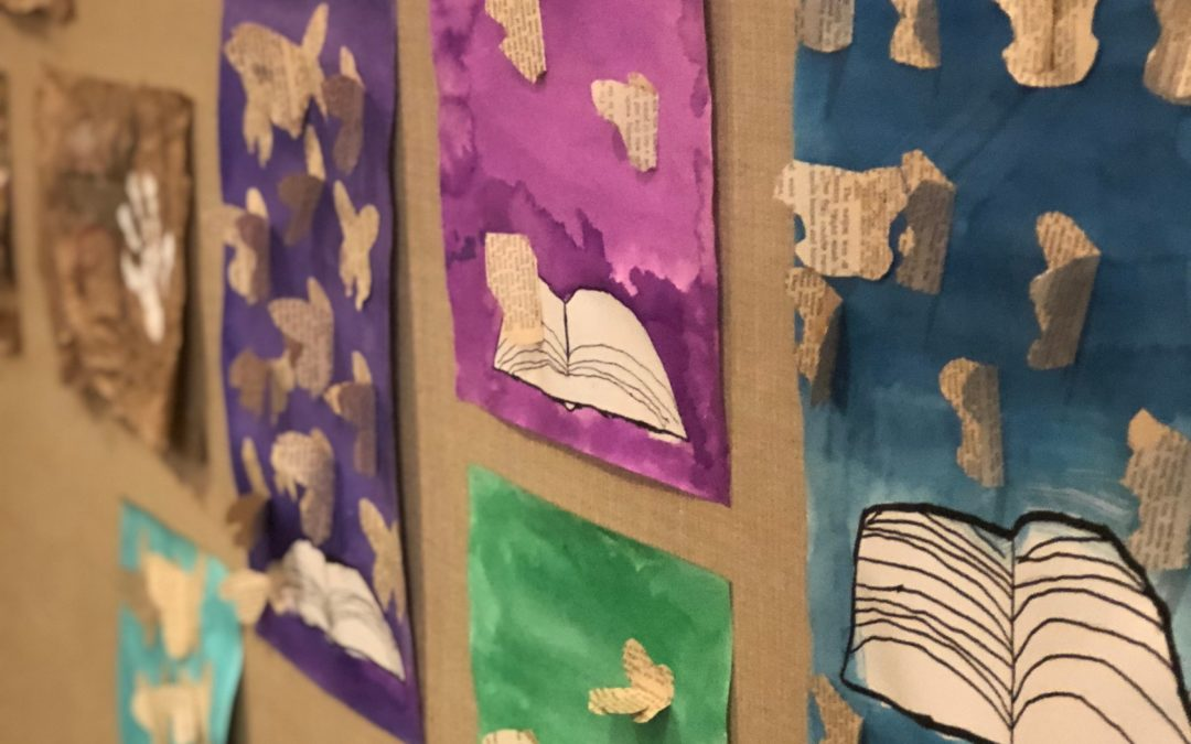 News from the Art Room By: Claire Rottembourg