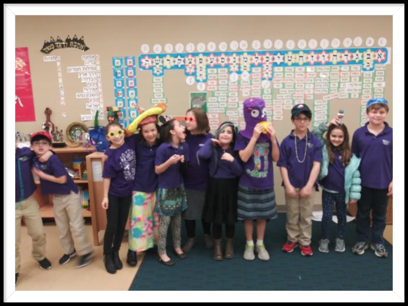 3rd and 4th Grade Hebrew by: Sari Menaker