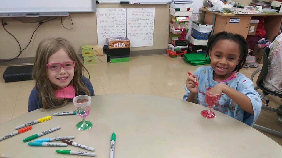 Kindergarten Celebrates Shabbat
